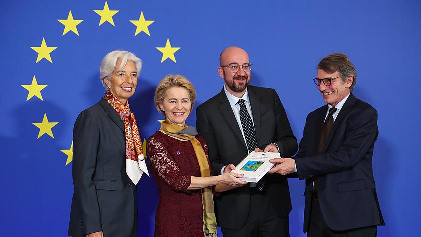欧盟新一届领导人纪念《里斯本条约》生效十周年