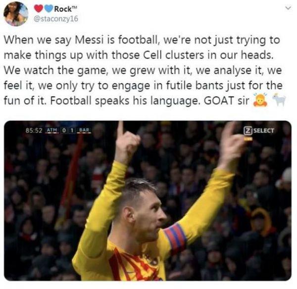 足球说的是梅西的语言