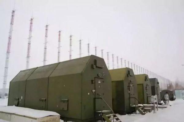 """俄军装备的""""集装箱""""超视距雷达系统(俄罗斯国防部网站)"""