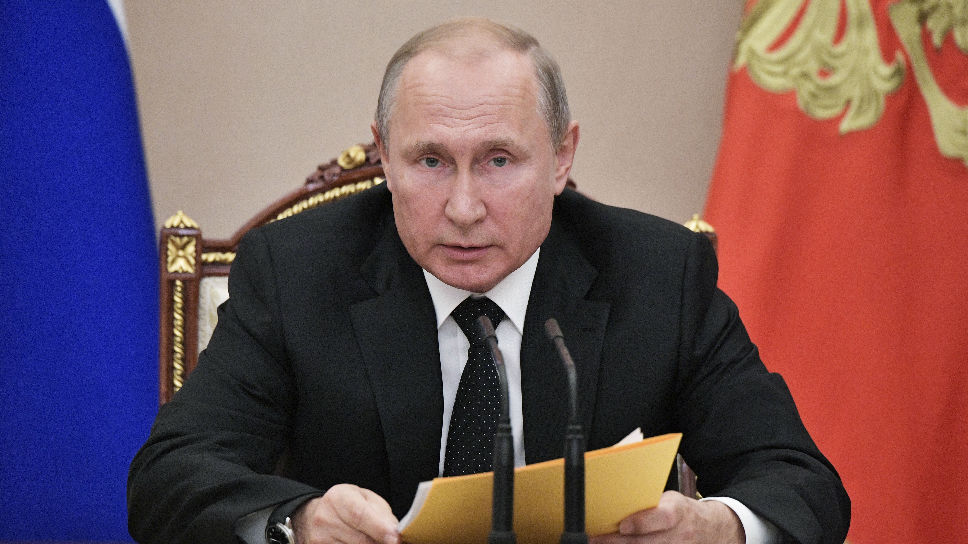 """普京签""""外媒-外国代理人""""法案:对象涵盖自然人"""