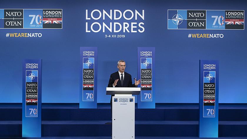 北约峰会在伦敦闭幕