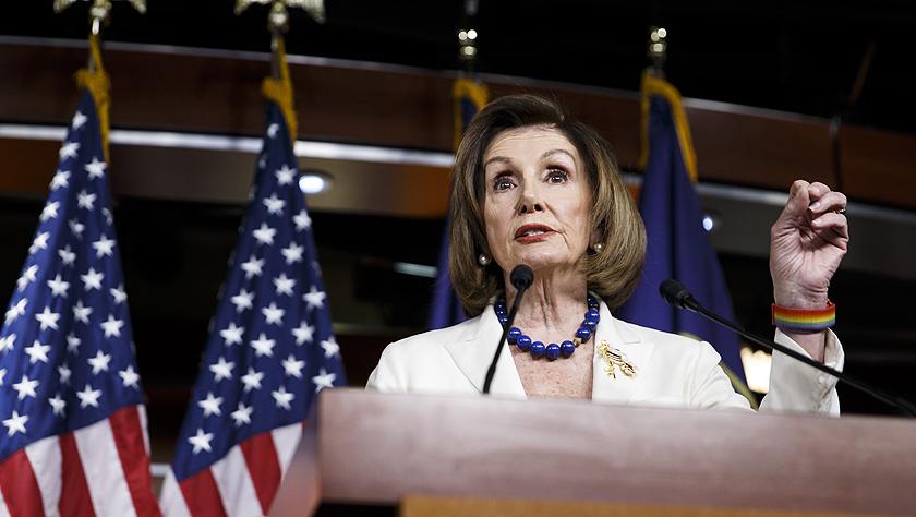 佩洛西要求美国会众议院司法委员会起草弹劾特朗普条款