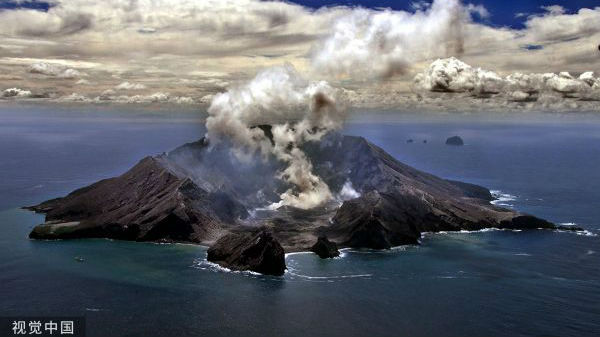 新西兰白岛火山105年来首次致命喷发 英媒:已致5人死亡