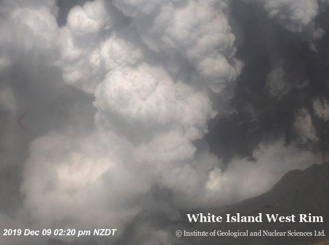 新西兰怀特岛火山突然喷发已致5人死亡