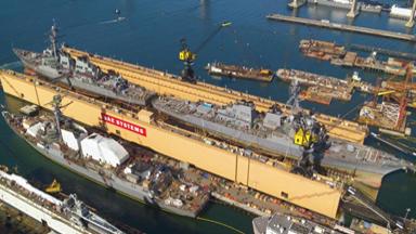 一坞修两舰!美五分六合船厂展示维护能力