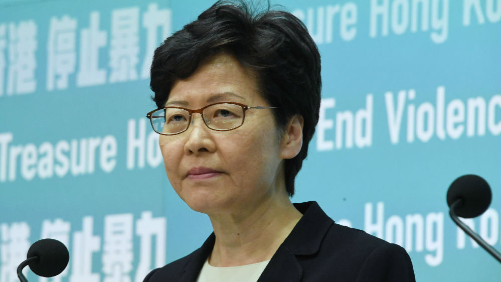 林鄭月娥重申恢復法治為首要任務 本周赴京述職引關注