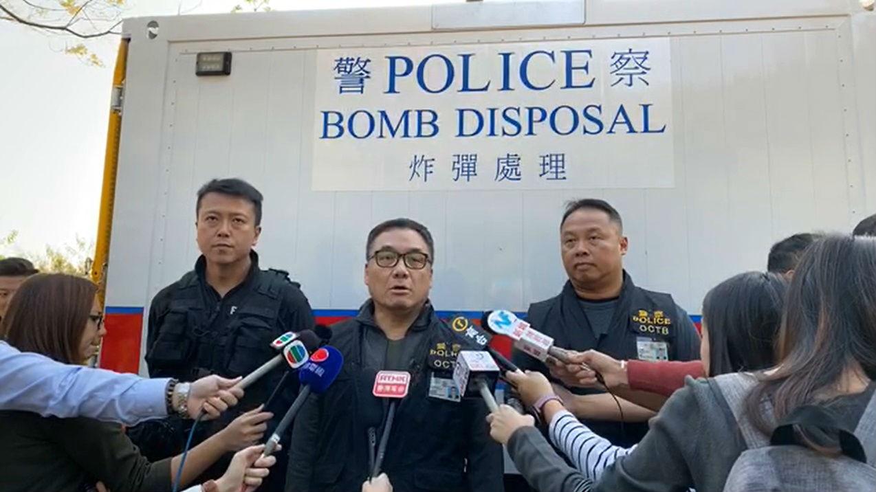 外媒关注:港警逮捕三名测试炸弹暴徒