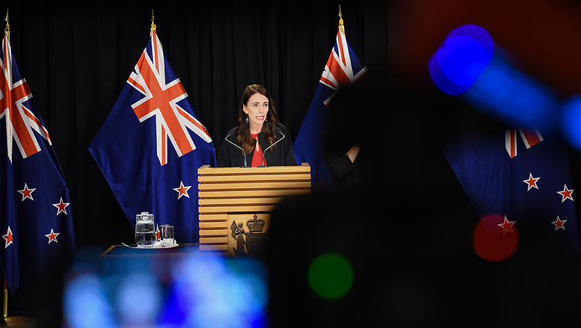新西蘭為懷特島火山噴發遇難者默哀