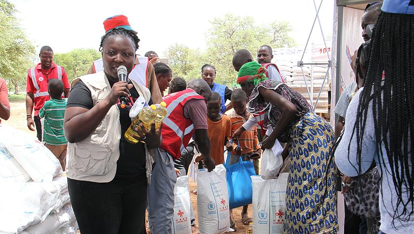 中國向納米比亞提供緊急糧食援助
