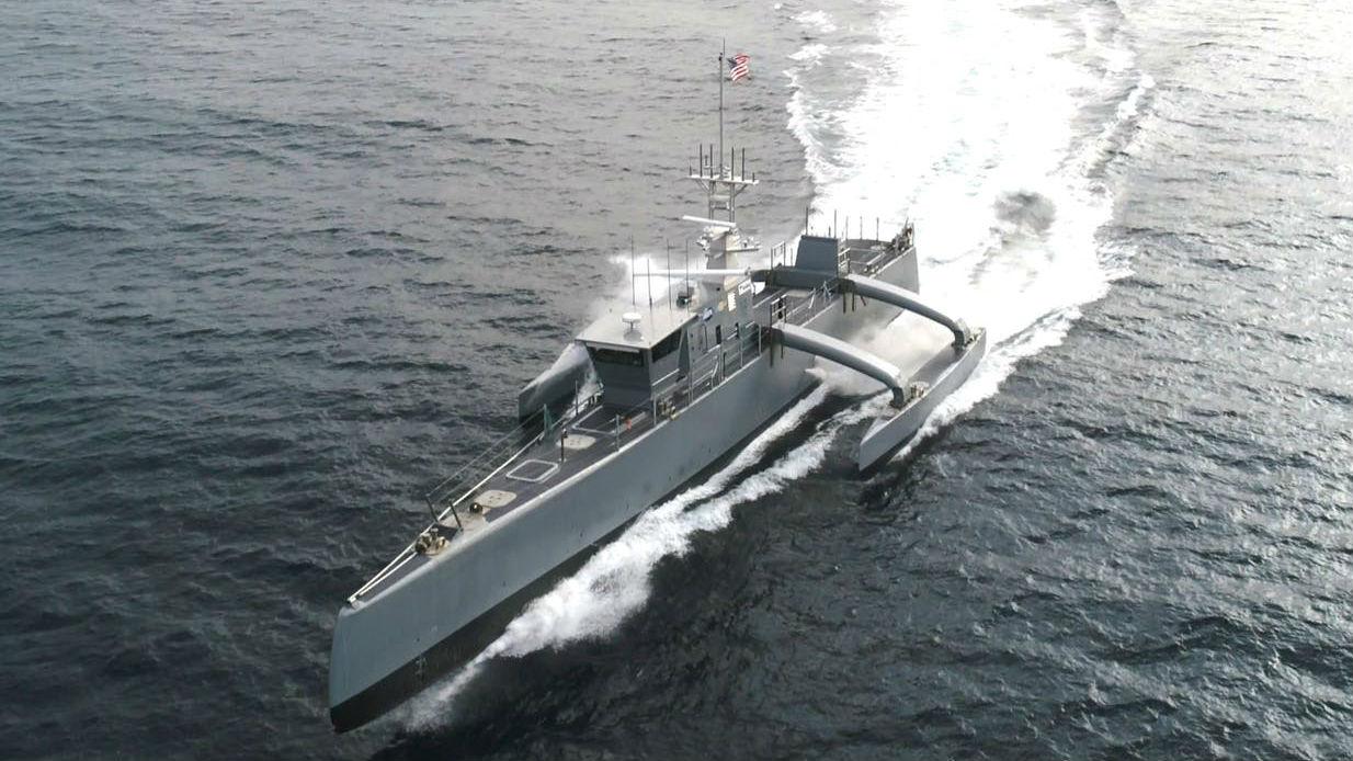 """美海军拟打造""""海上列车""""无人舰队 全球部署 无需返港"""