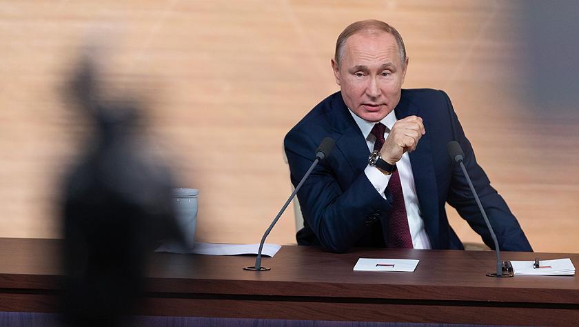 普京召開年度記者會