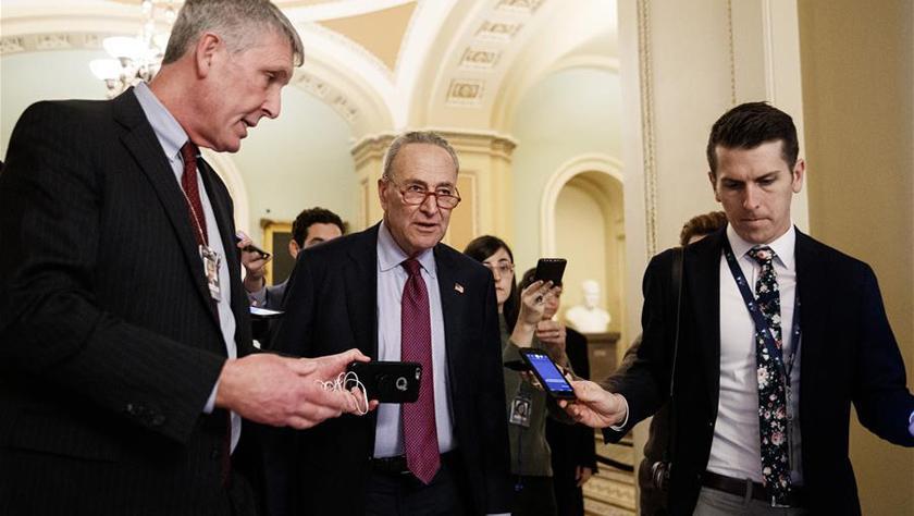 美國會參議院兩黨領袖未就特朗普彈劾案審理安排達成一致