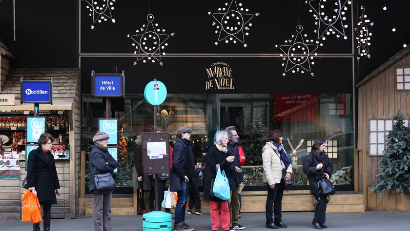 圣誕節臨近 多數法國人希望假期內暫停罷工