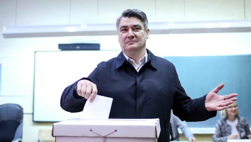 克罗地亚开始总统选举投票