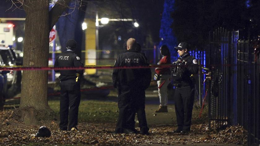 芝加哥发生枪击事件13人受伤