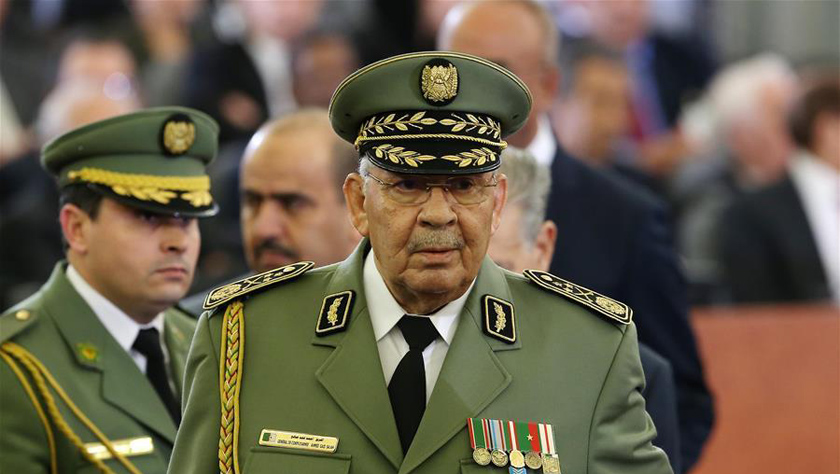 阿爾及利亞軍隊總參謀長去世