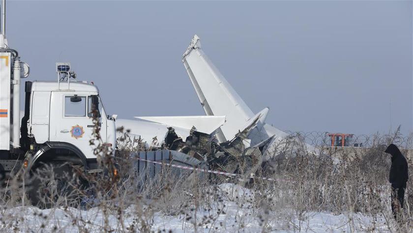 哈薩克斯坦失事客機遇難人數上升至15人