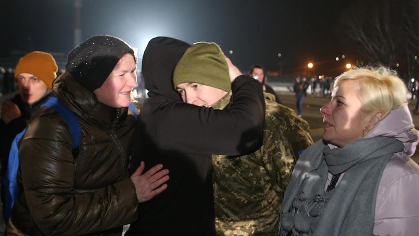 烏克蘭東部沖突雙方大規模交換在押人員