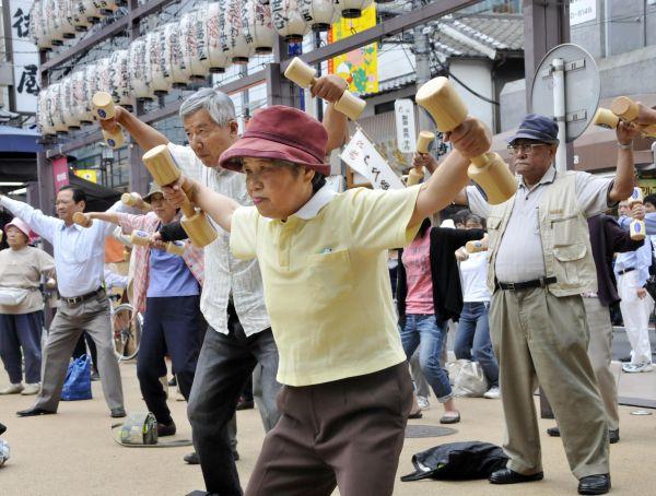 日本老齡化