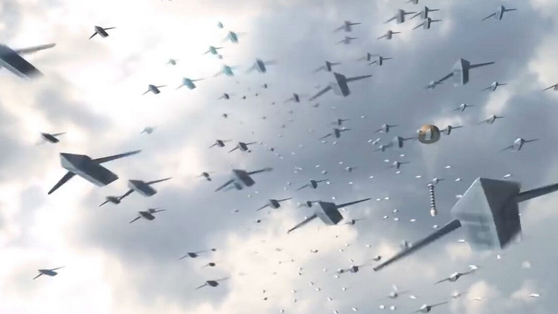 """境外媒体:无人机""""蜂群""""或令核武器过时"""