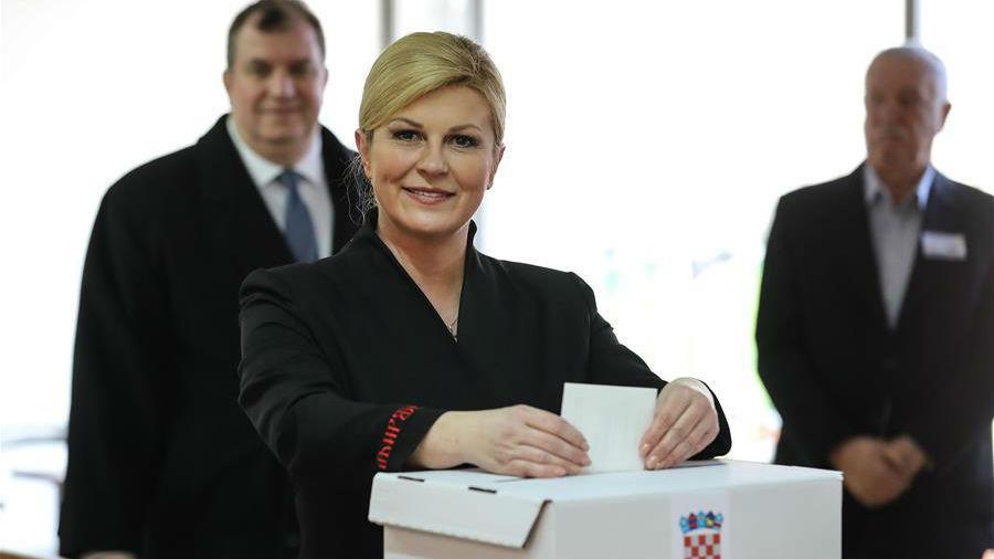 克羅地亞舉行總統選舉第二輪投票