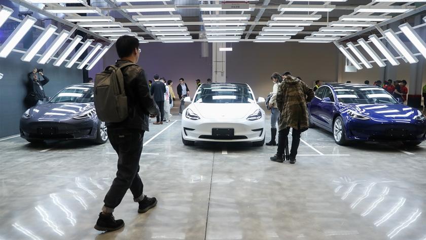 特斯拉宣布在華啟動Model Y制造項目 首批中國產特斯拉汽車向公眾交付