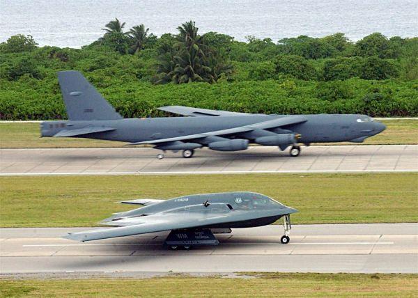 B-25H B-2 Diego Garcia Base old