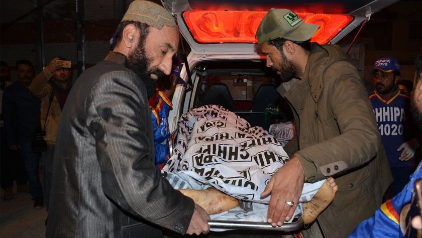 巴基斯坦奎达一清真寺发生爆炸14死20伤