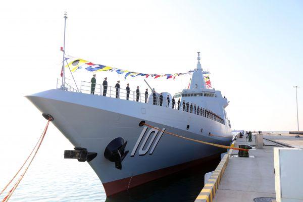 """海军专家认为:南昌舰将扮演中国""""航母保镖""""角色"""