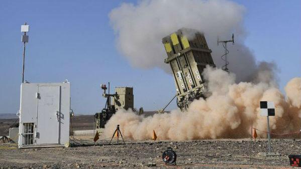 """以色列改进型""""铁穹""""测试成功 提升反导及反无人机能力"""
