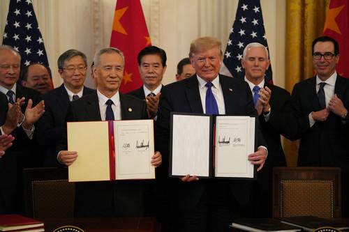 【智慧树知到代刷】,美专家称中美协议缓解两国贸易争端令人欣慰