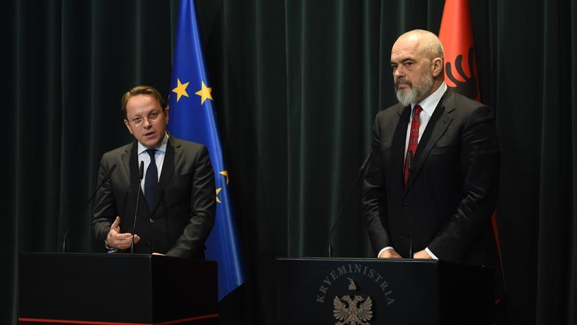 欧盟委员说阿尔巴尼亚已做好入盟谈判准备