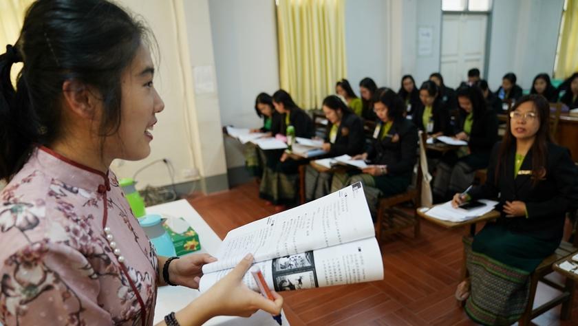 缅甸公务员掀起学中文热