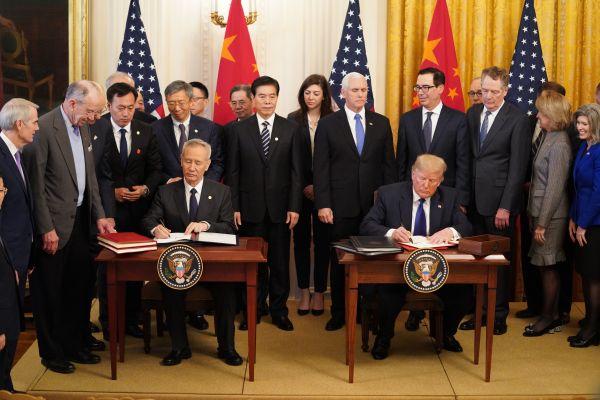 境外媒體:中美協議提振世界經濟信心