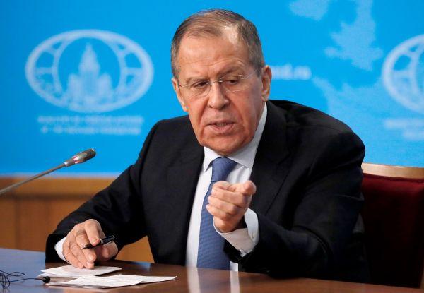 俄媒:拉夫罗夫年度记者会猛批美国
