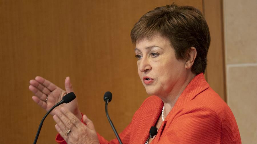IMF總裁:中美第一階段經貿協議降低世界經濟不確定性