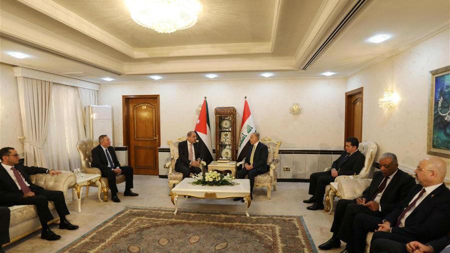 伊拉克和约旦外长讨论缓和地区紧张局势等问题