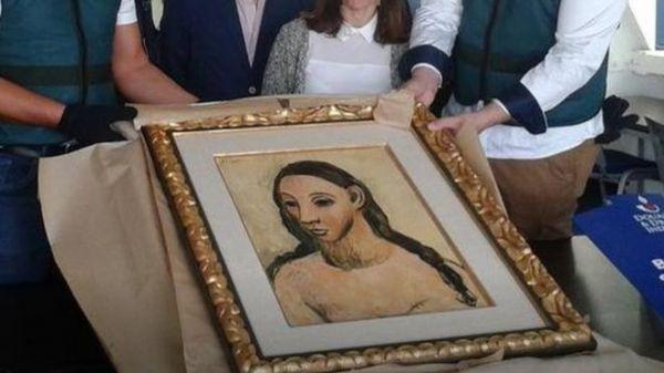 法媒:西班牙银行家因偷运毕加索名画获刑