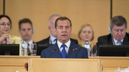 俄前总理梅德韦杰夫谈新职:实不相瞒,我有一些经验