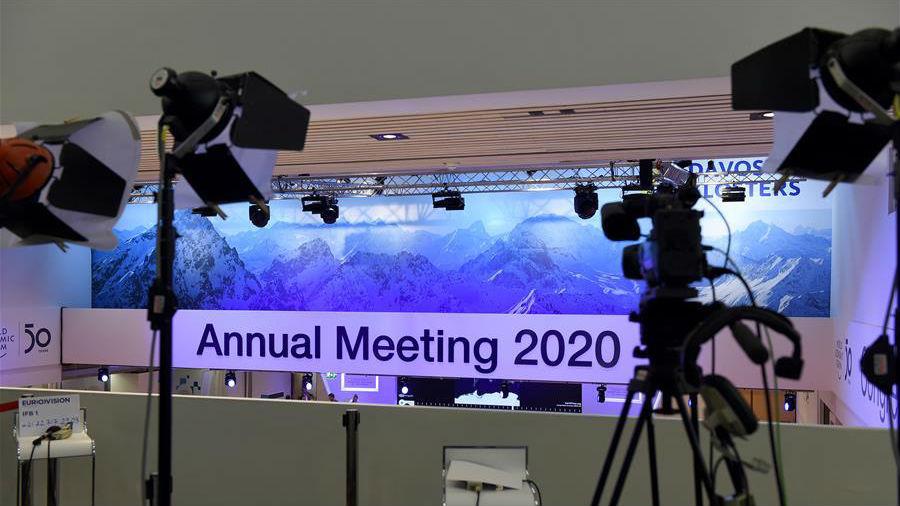 达沃斯世界经济论坛2020年年会开幕在即