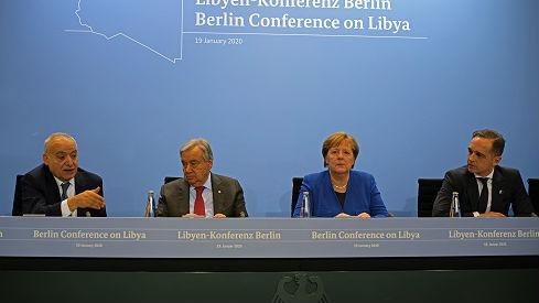 """外媒:各大國承諾""""不干涉""""利比亞 但和平曙光仍待觀察"""