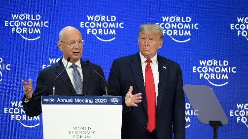 特朗普达沃斯大吹美国经济 外媒:无助于消除对美不安