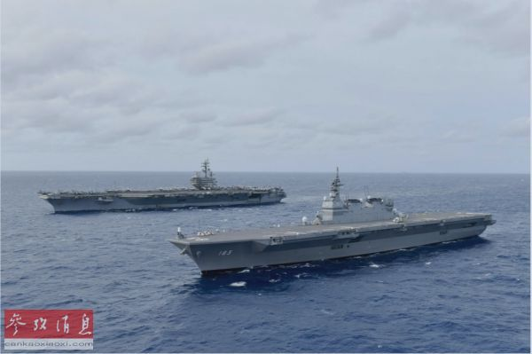 日媒:日自卫队加速与美军一体化引担忧