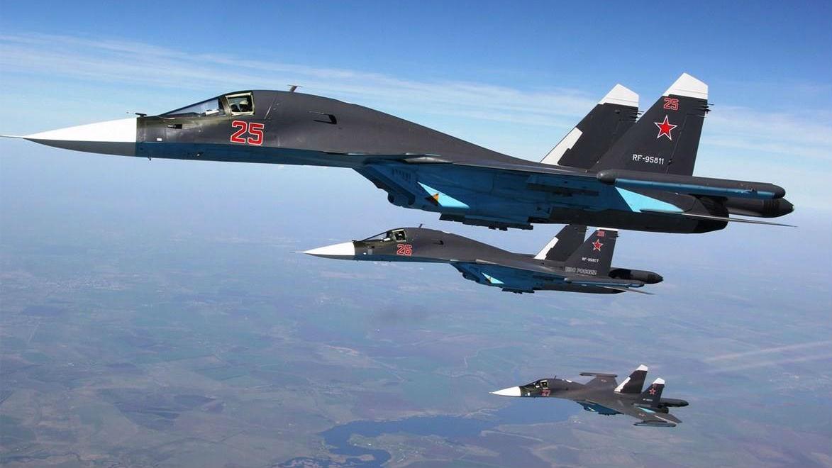 俄改进型苏-34轰炸机今年量产 充分汲取在叙实战经验
