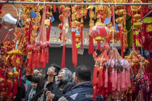 外媒:全球各地欢庆中国农历新年