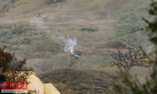 警方称浓雾或致科比直升机失事 事发前曾盘旋6圈等雾散