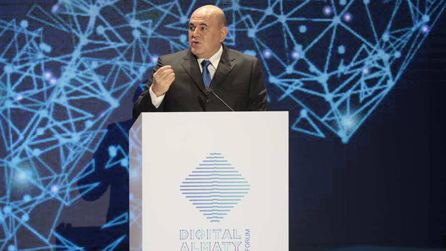 """俄总理:欧亚经济与""""一带一路""""倡议对接至关重要"""