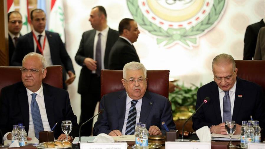 巴勒斯坦总统说将断绝与以色列和美国一切关系