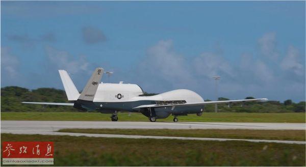 """美在关岛部署""""人鱼海神""""无人机 外媒:将强化美军侦察能力"""