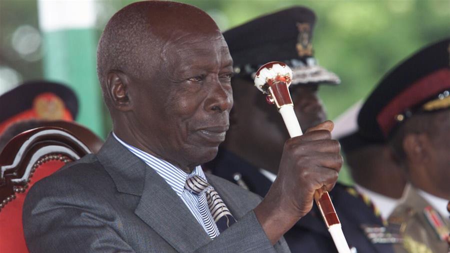 肯尼亚前总统莫伊去世